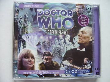 Doctor Who The Tenth Planet CD  Soundtrack Hartnell